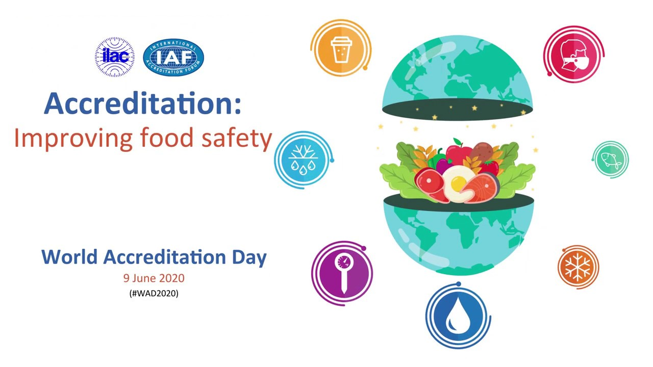 World Accreditation Day 2020 Improving Food Safety